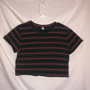 Tops - T-Shirt Crop Top Size:S